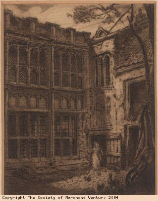 Sepia Print of the Great House
