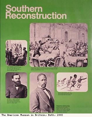 Southern Reconstruction poster