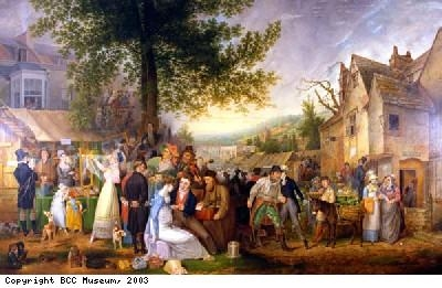 Painting of St James' fair