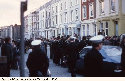 St Pauls Riots, police