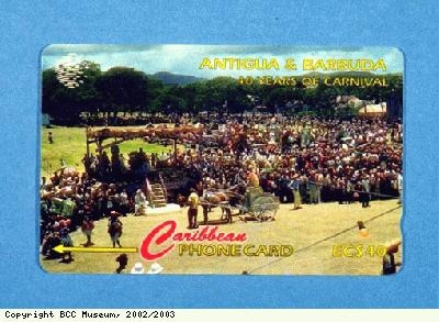 Telephone card, Antigua