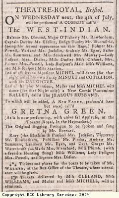 Theatre Royal advert