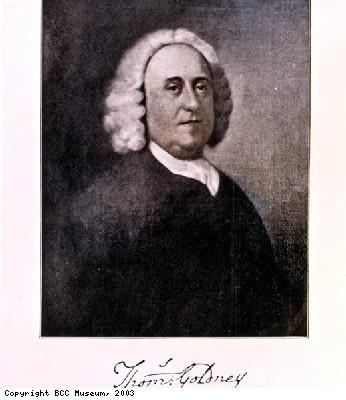 Portrait of Thomas Goldney