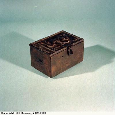 Box, possibly for tobacco