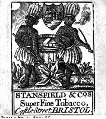 Tobacconists trade card