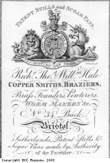 Trade card of Hale Brothers Brass Works