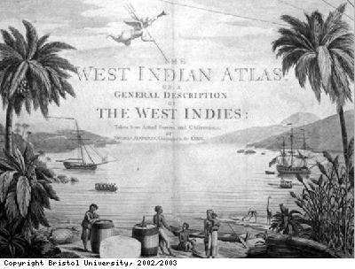 West Indian Atlas titlepage